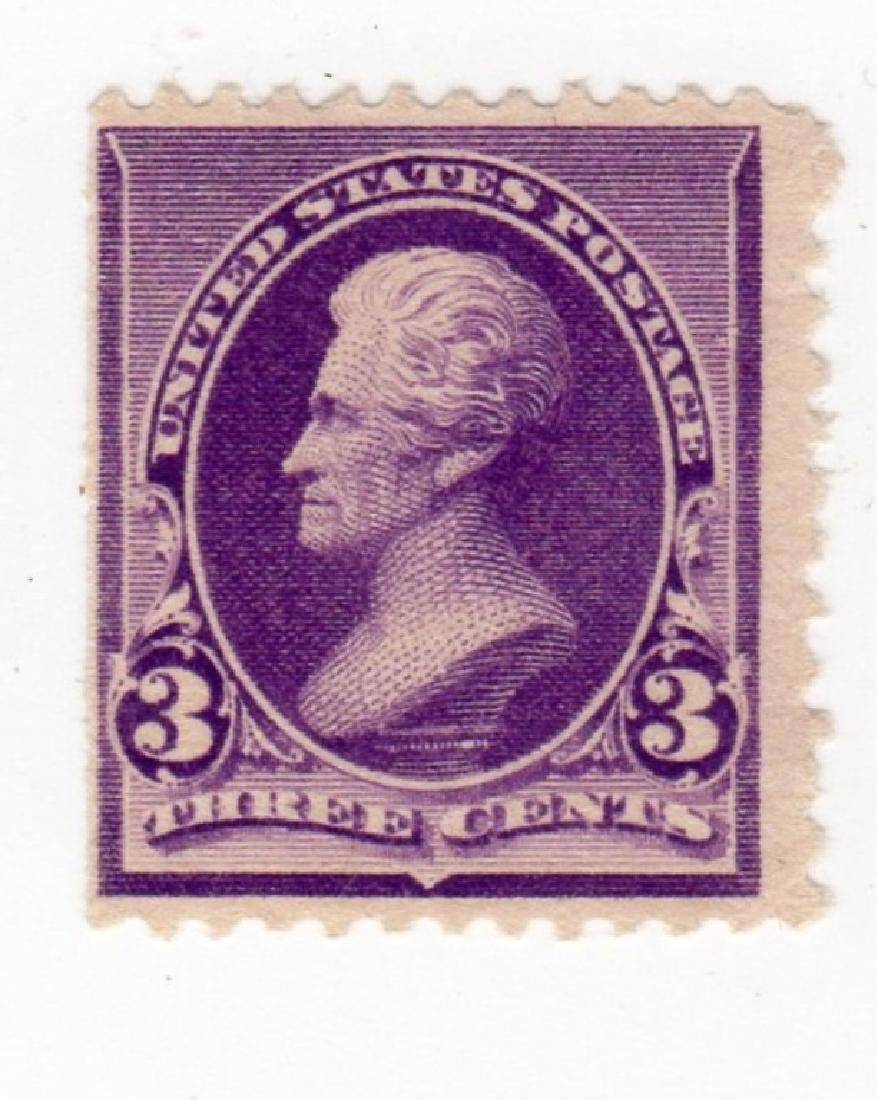 US 1894 3 cents Jackson stamps, mint