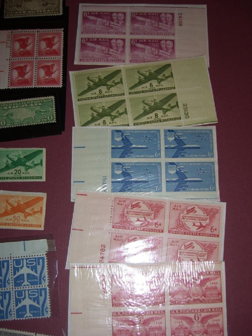 158 US Air post BOB stamps - 10