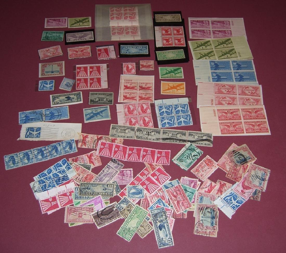 158 US Air post BOB stamps