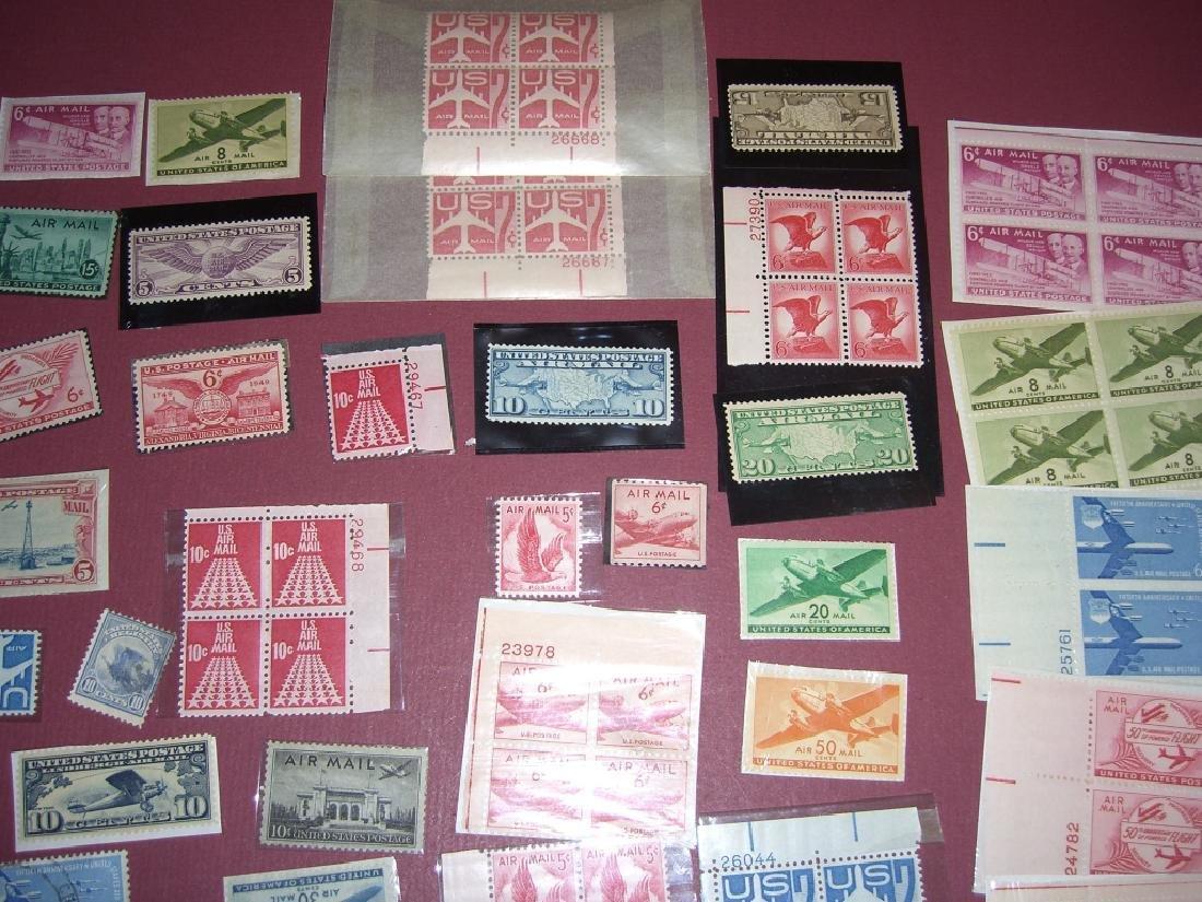 158 US Air post BOB stamps - 2