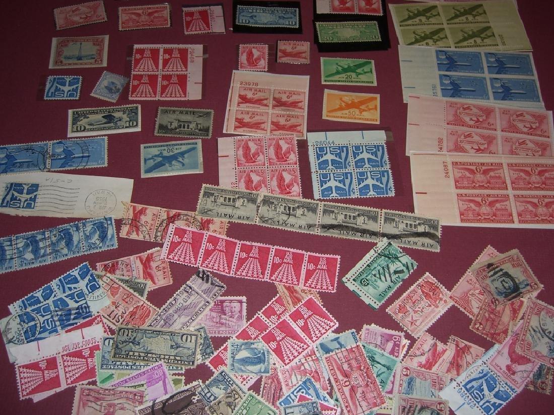 158 US Air post BOB stamps - 3