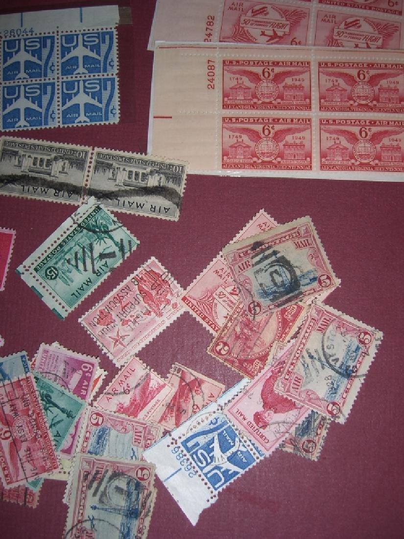 158 US Air post BOB stamps - 4