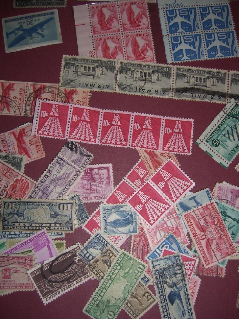 158 US Air post BOB stamps - 5