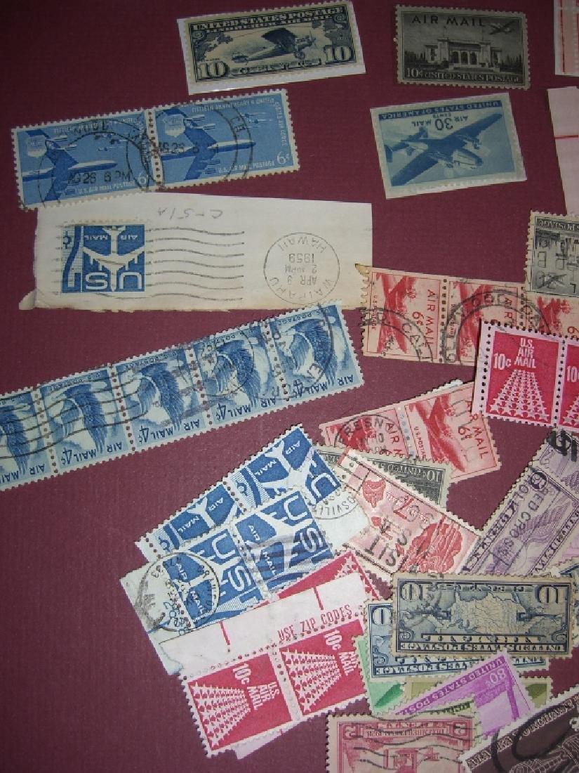 158 US Air post BOB stamps - 6