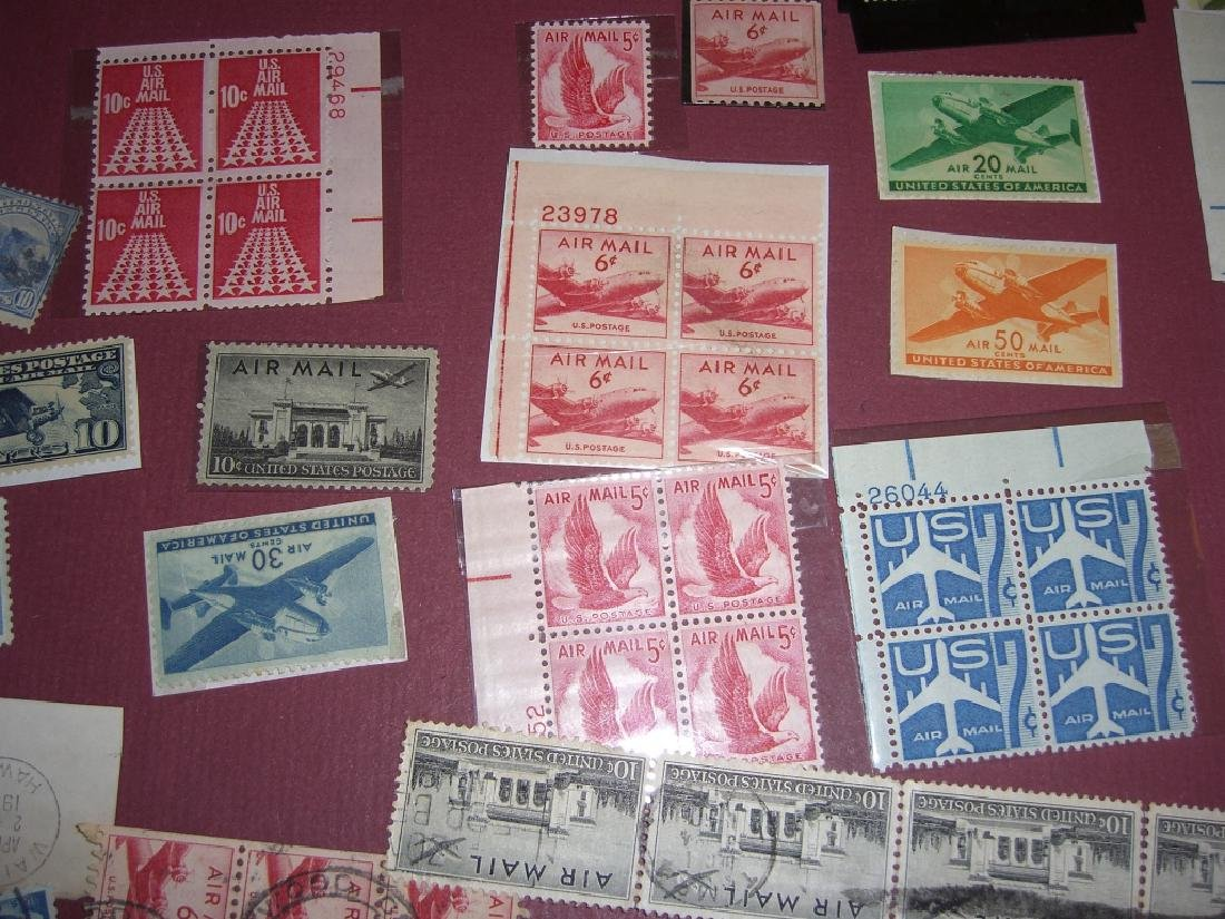 158 US Air post BOB stamps - 7