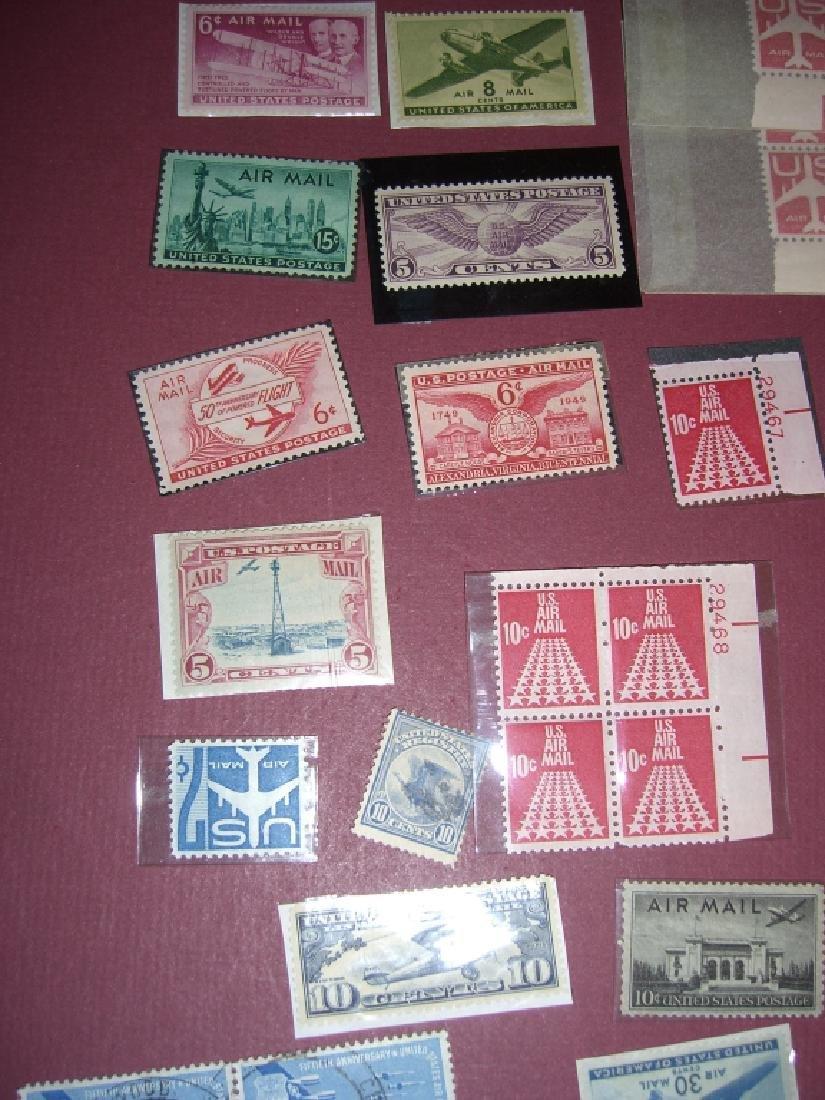 158 US Air post BOB stamps - 8