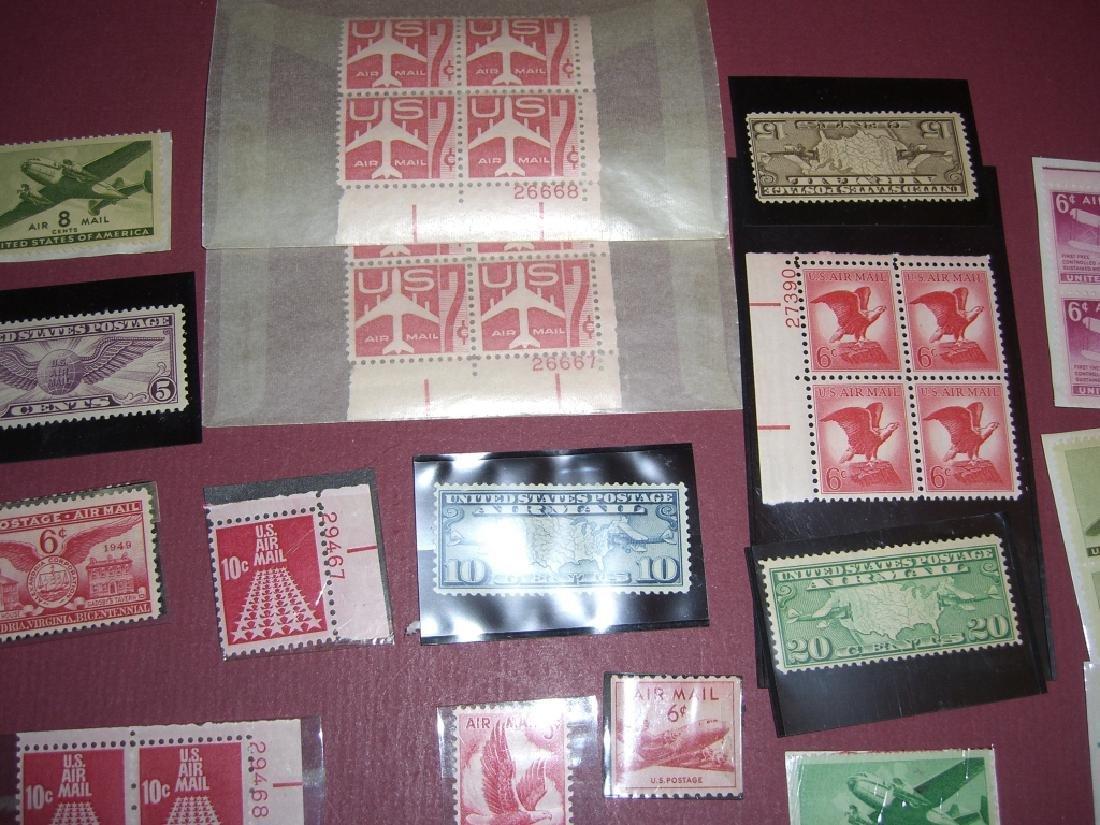 158 US Air post BOB stamps - 9