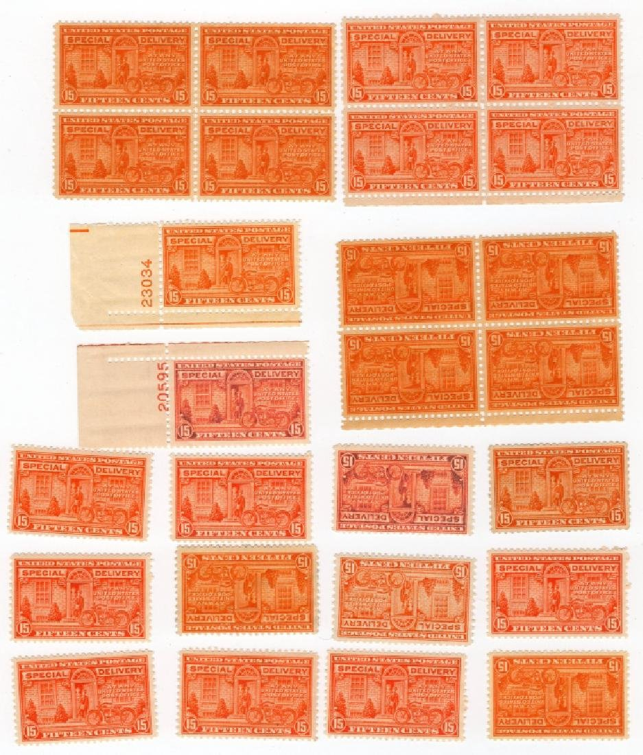 26 US 1927 Special delivery BOB  15 cents stamps