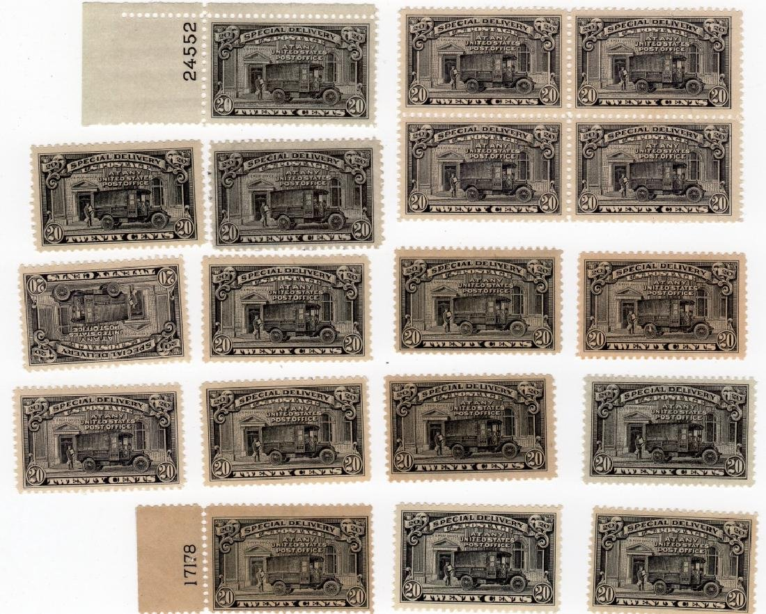 18 US 1925 Special delivery BOB 20 cents stamps