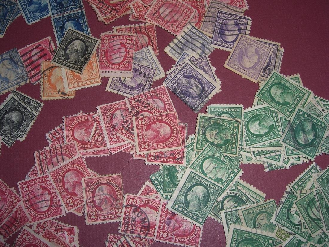 US 50 mixed stamps lot - 2