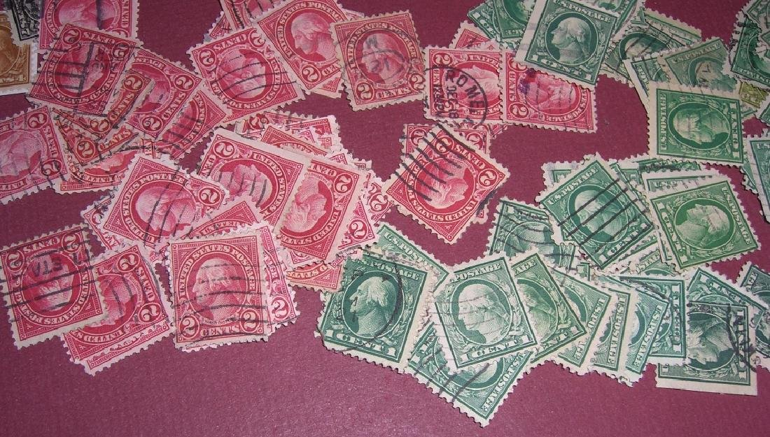 US 50 mixed stamps lot - 4