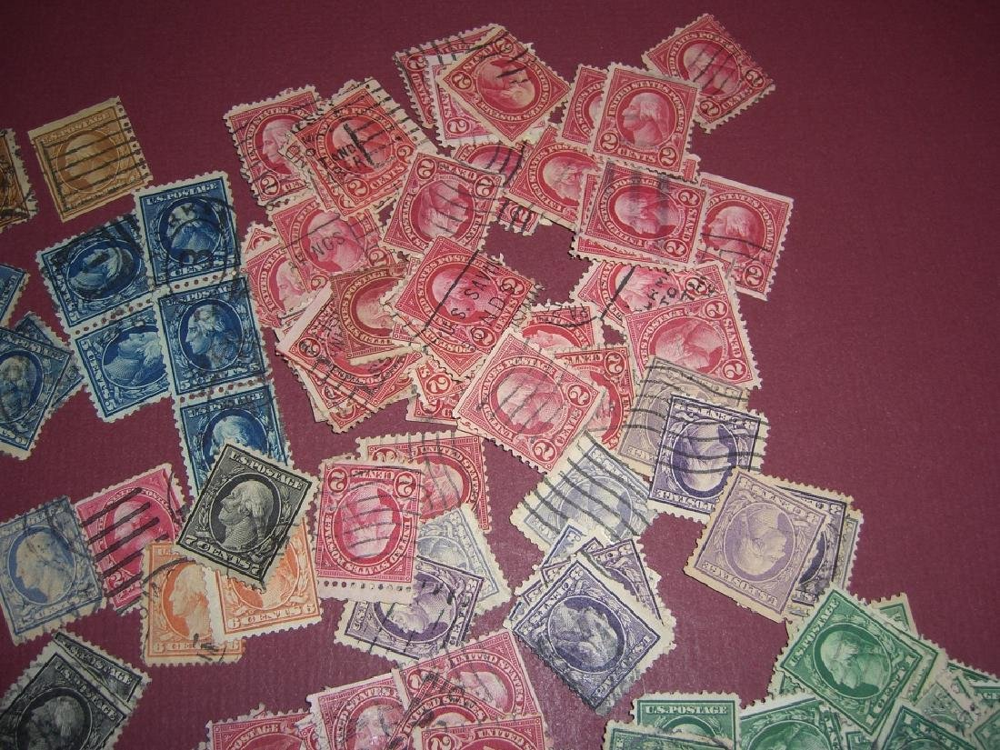 US 50 mixed stamps lot - 8