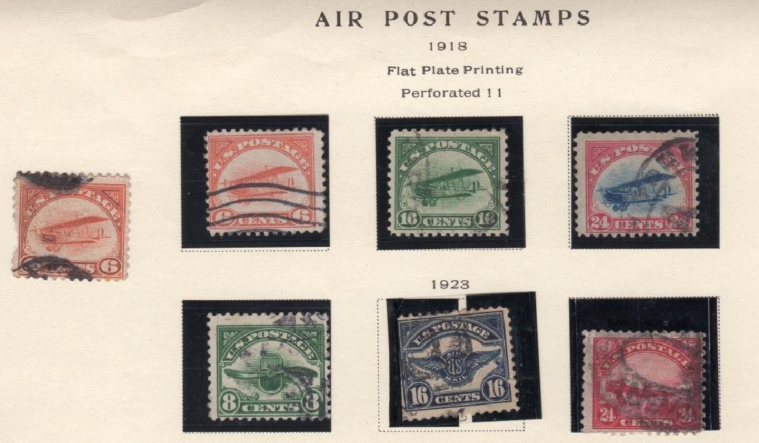 19 US Air post & Trans-Pacific stamps - 2