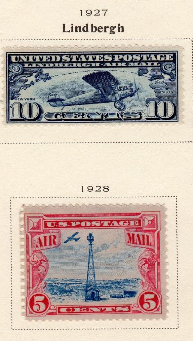 19 US Air post & Trans-Pacific stamps - 4