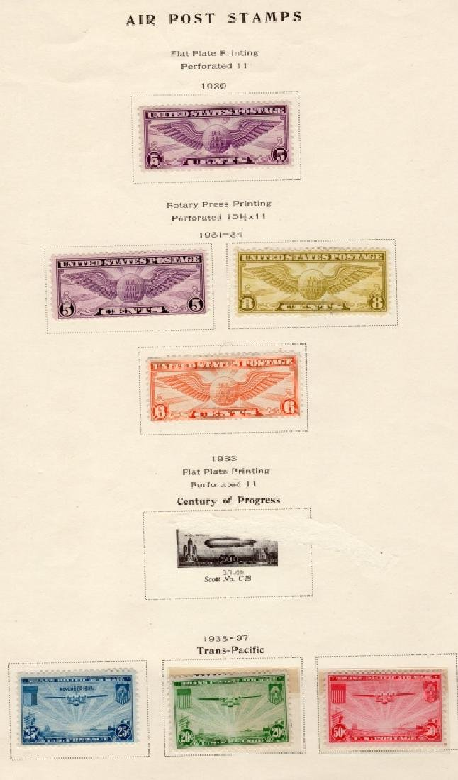 19 US Air post & Trans-Pacific stamps - 5