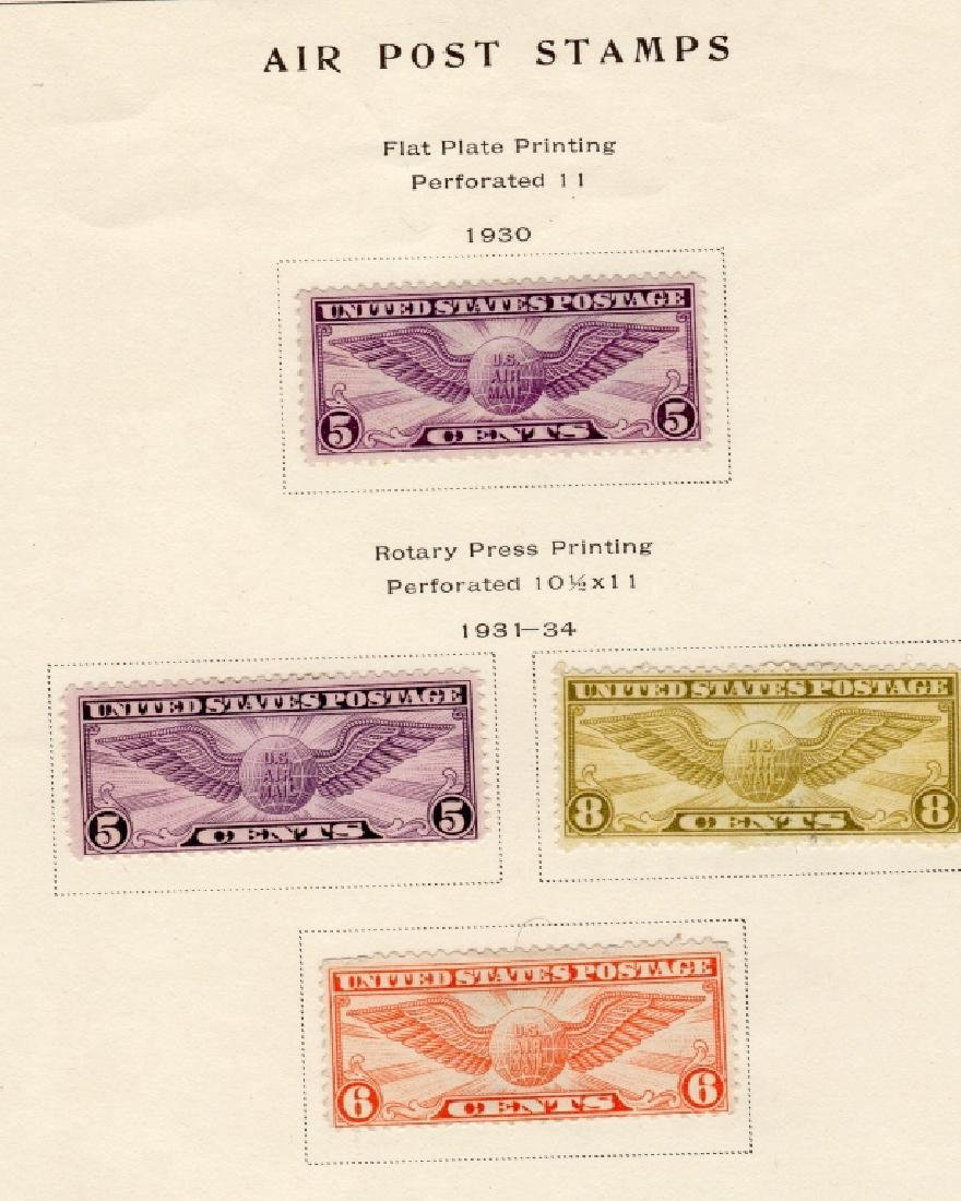 19 US Air post & Trans-Pacific stamps - 6
