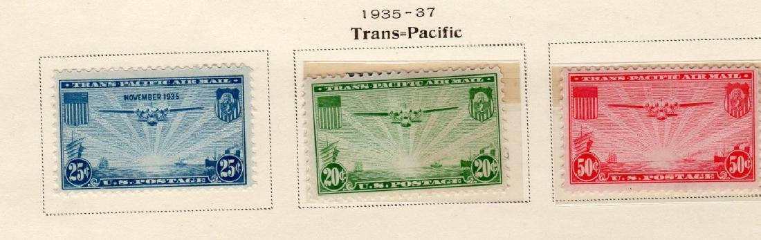 19 US Air post & Trans-Pacific stamps - 7