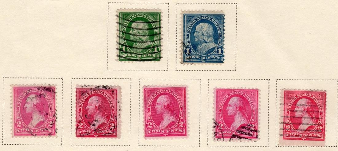 US 1894 Bureau issue engraved  stamps - 2
