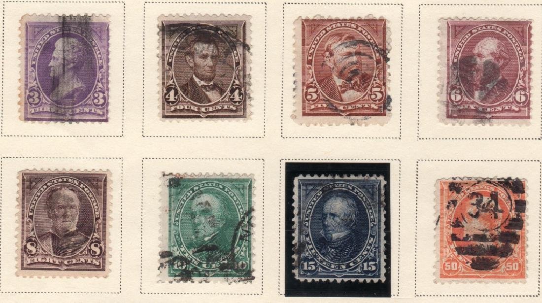 US 1894 Bureau issue engraved  stamps - 3