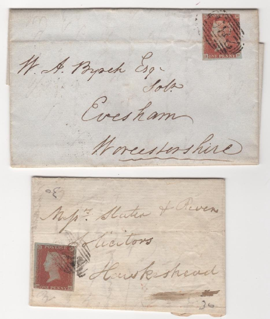 2 Great Britain stamp covers