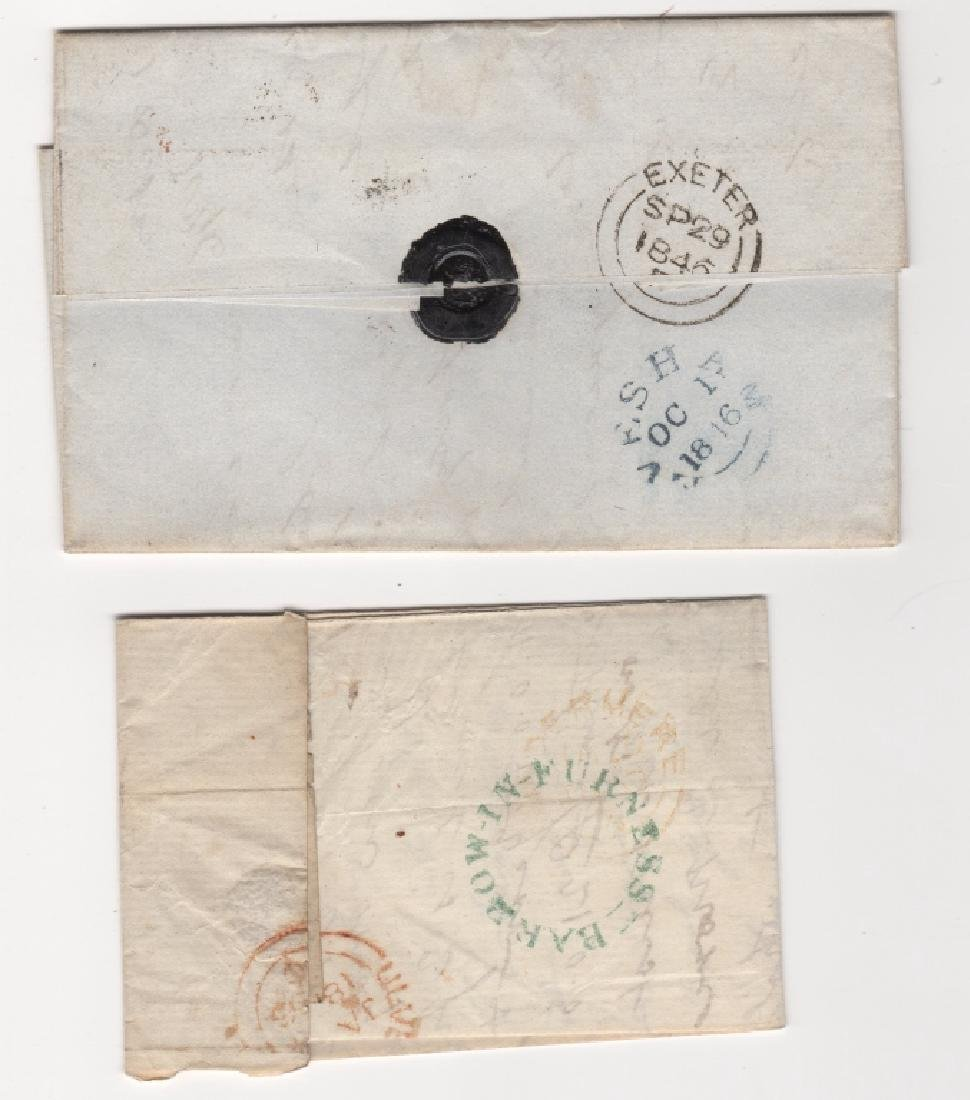 2 Great Britain stamp covers - 2
