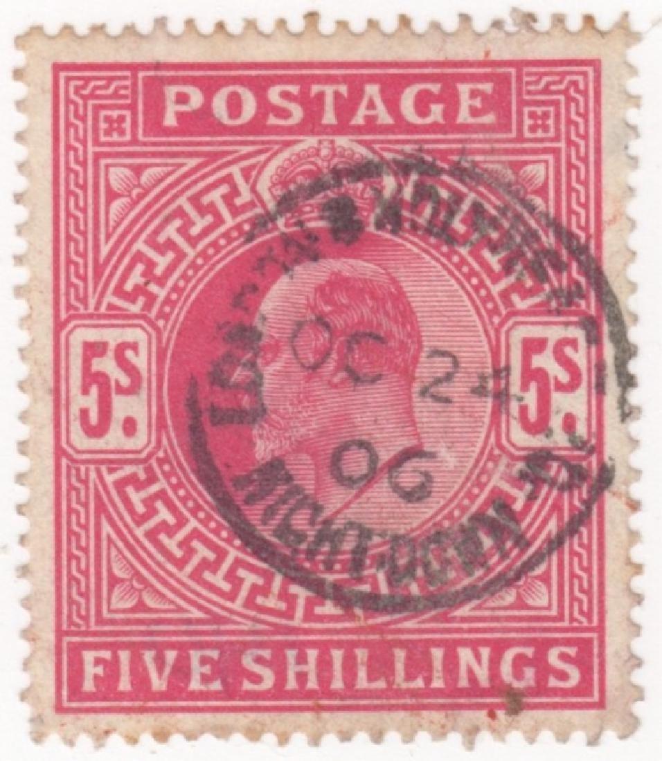 1902-11 Great Britain King Edward VII stamps