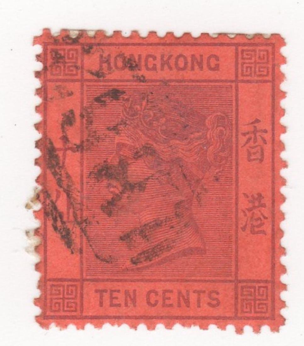 Great Britain Commonwealth Hong Kong stamp