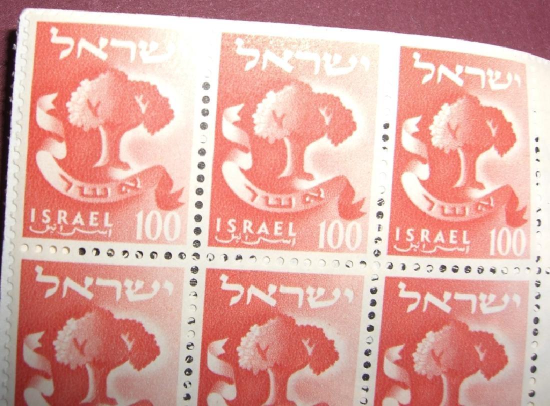 Israel  stamp letter lot - 4