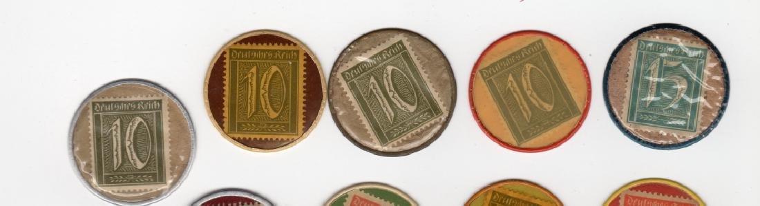 14 Germany Encased Postage Stamps - 2