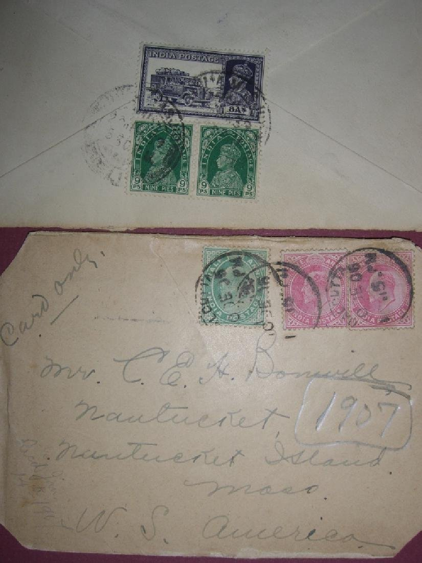 India 23 stamped envelope covers - 3