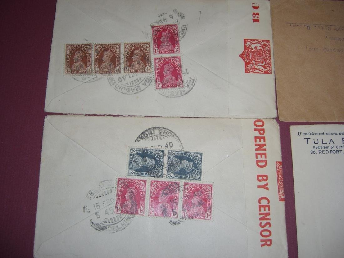 India 23 stamped envelope covers - 4