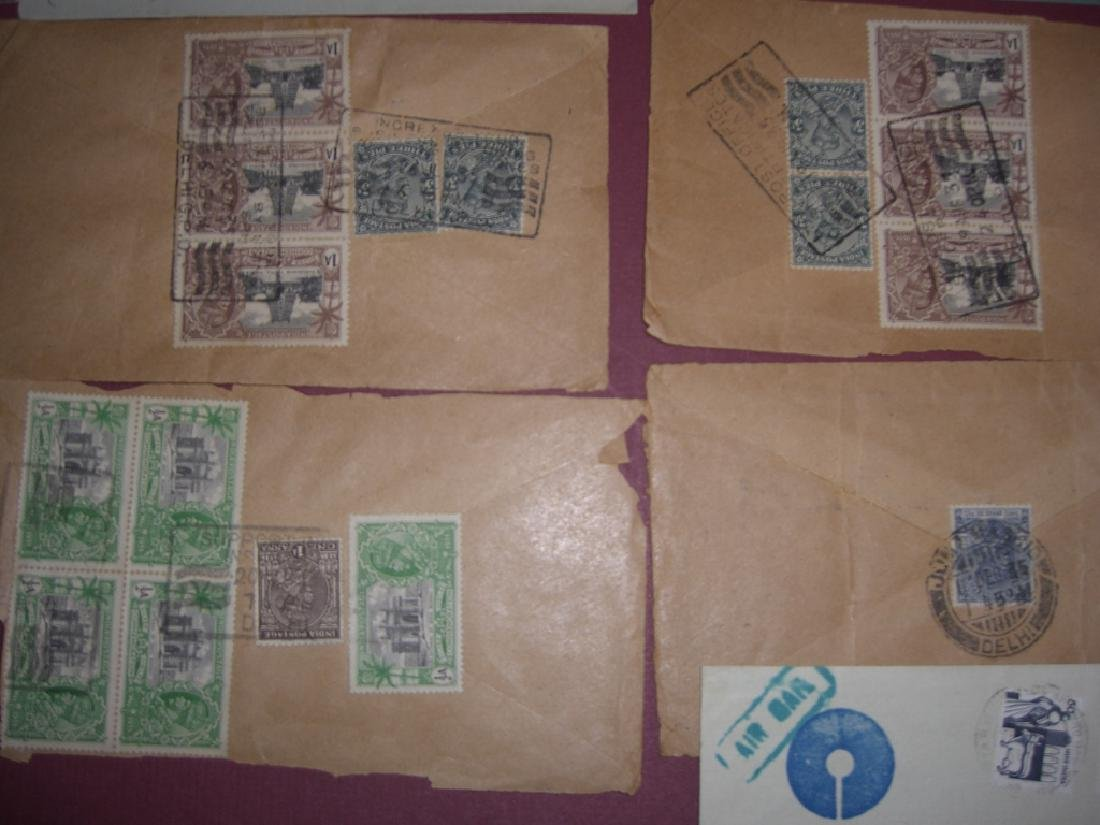 India 23 stamped envelope covers - 5