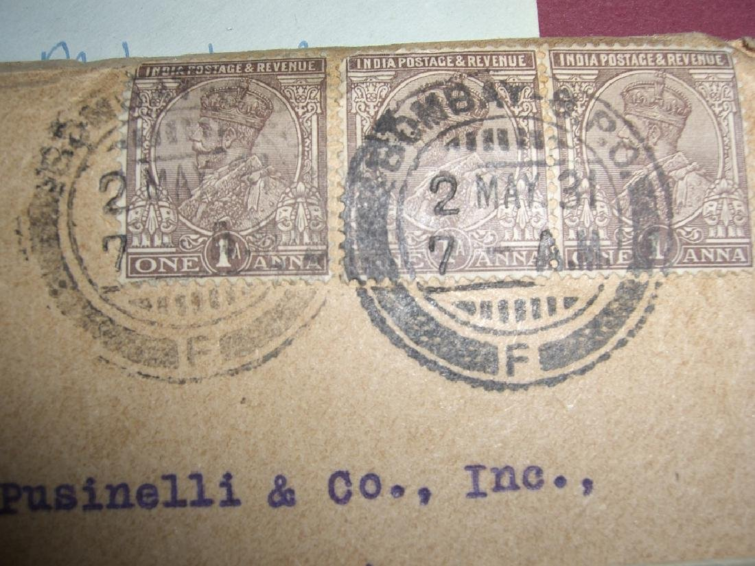 India 23 stamped envelope covers - 7