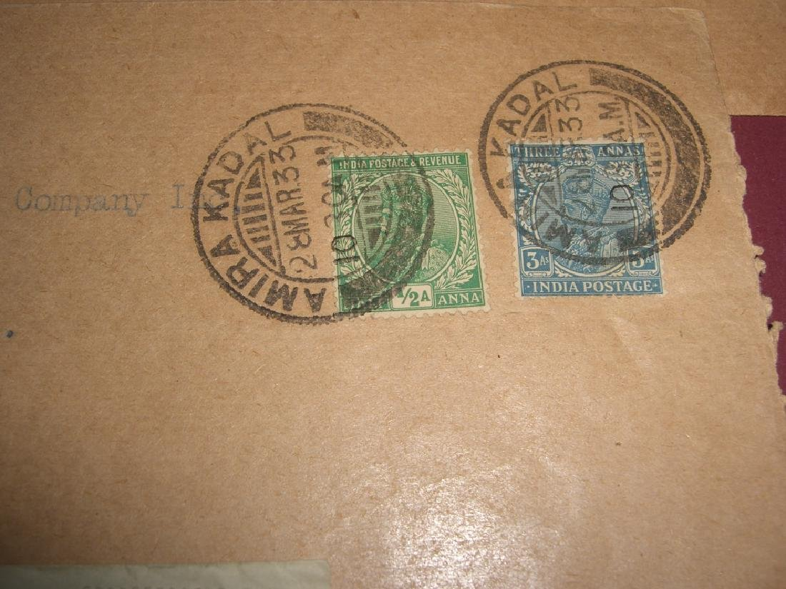 India 23 stamped envelope covers - 8