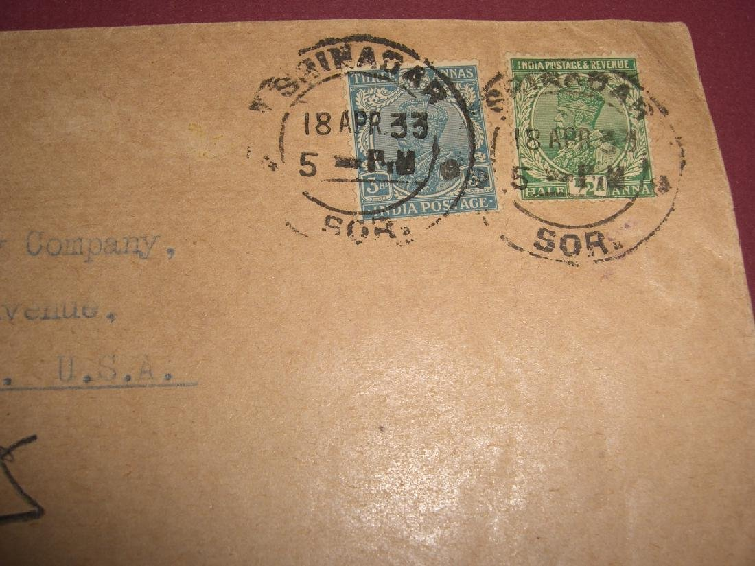 India 23 stamped envelope covers - 9