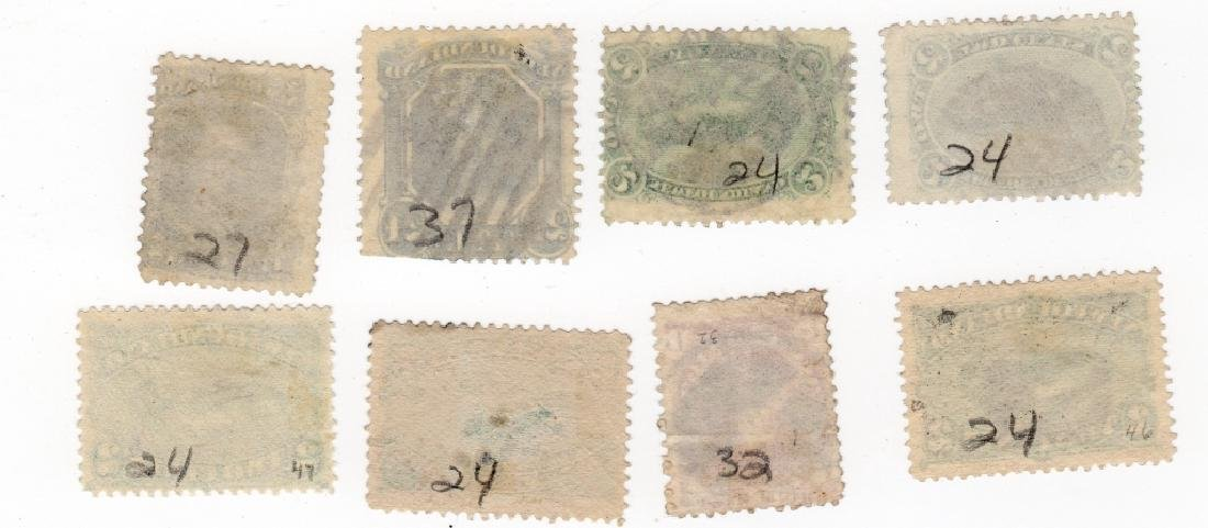 13 Newfoundland Canada stamps - 2