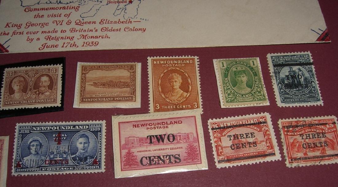 26 Canada New Foundland stamps cover receipt - 3