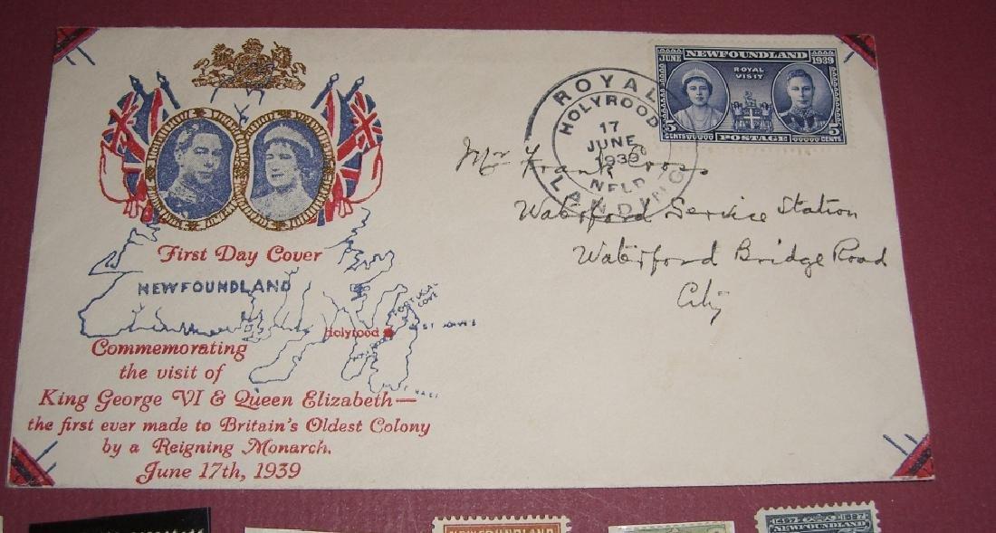26 Canada New Foundland stamps cover receipt - 4