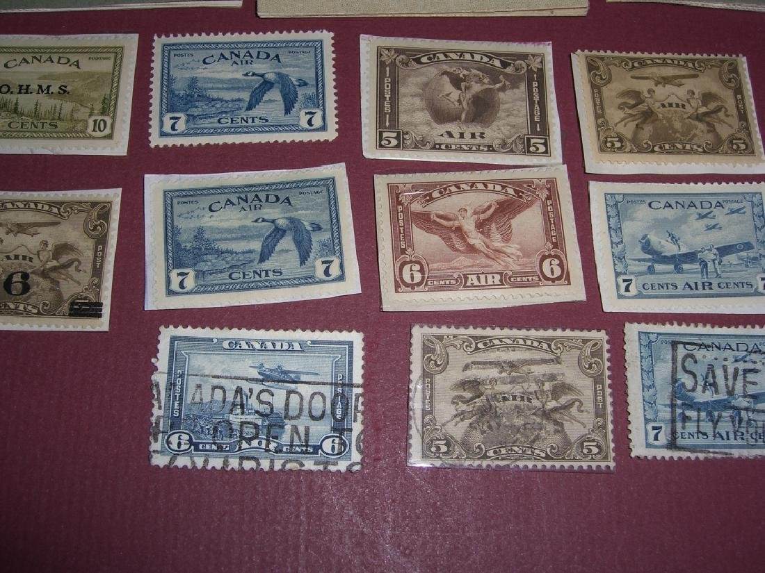 Canada 16 air post & booklet stamps - 3