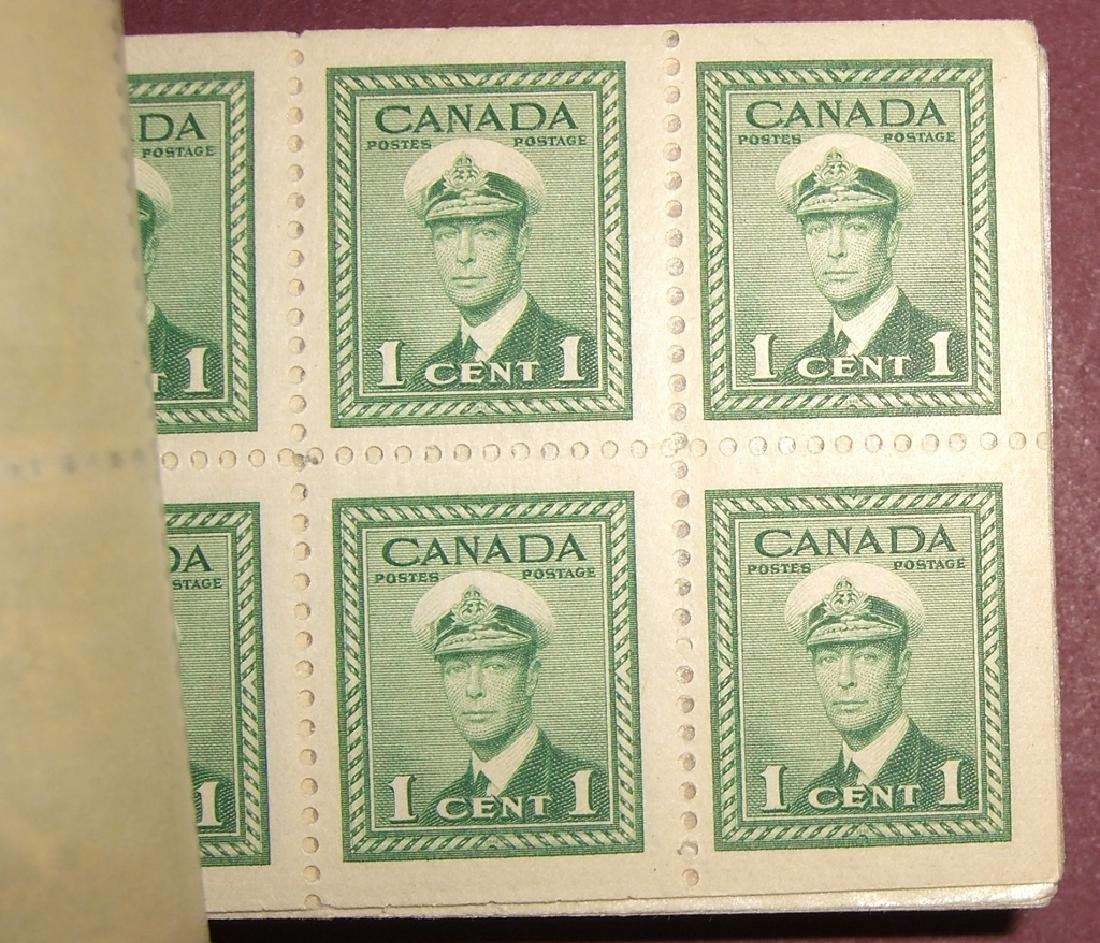 Canada 16 air post & booklet stamps - 5