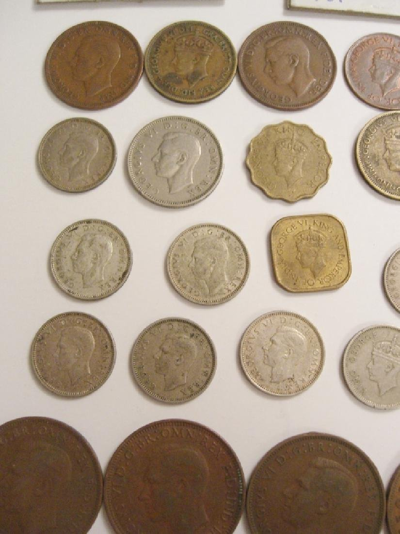 34 England or Great Britain King George VI coins - 4