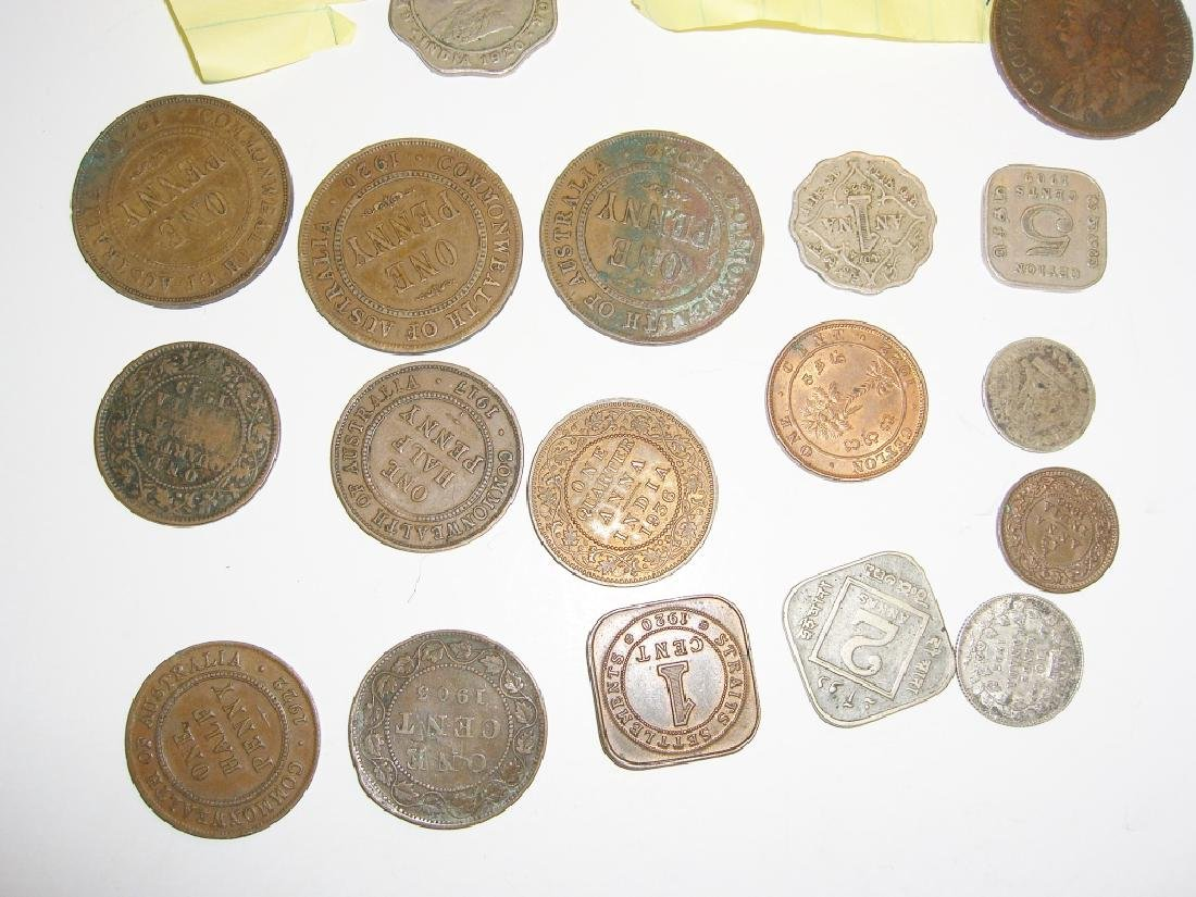 20  England or Great Britain  coins - 2