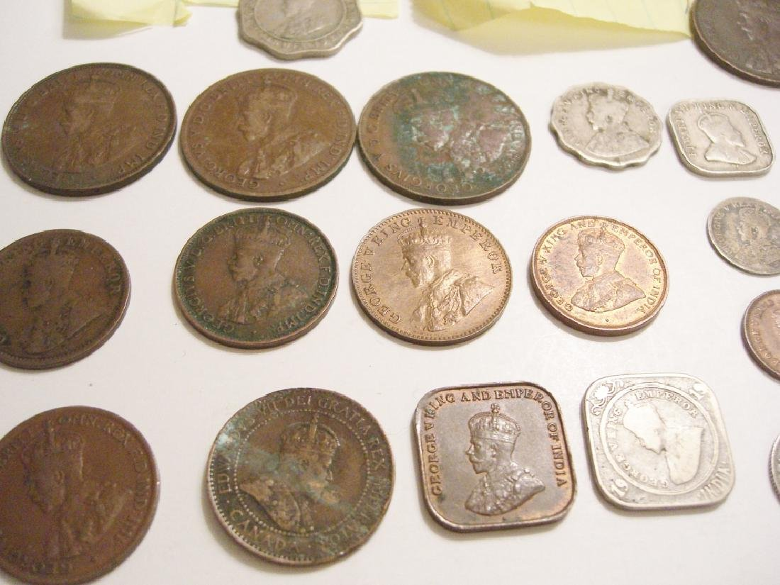 20  England or Great Britain  coins - 3