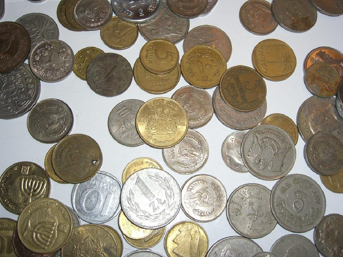 Large collection of Israel & Arabic coins - 2