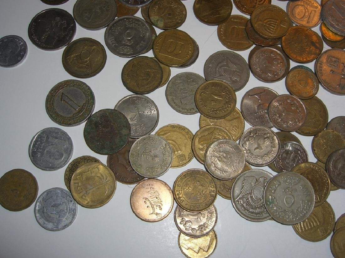 Large collection of Israel & Arabic coins - 4