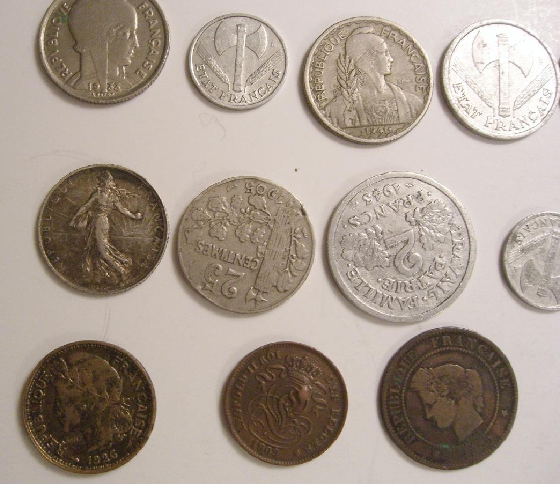 28 France/French coins - 3