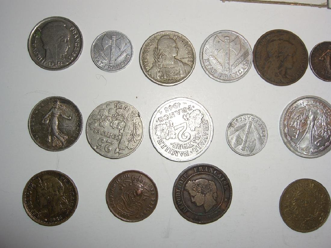 28 France/French coins - 4