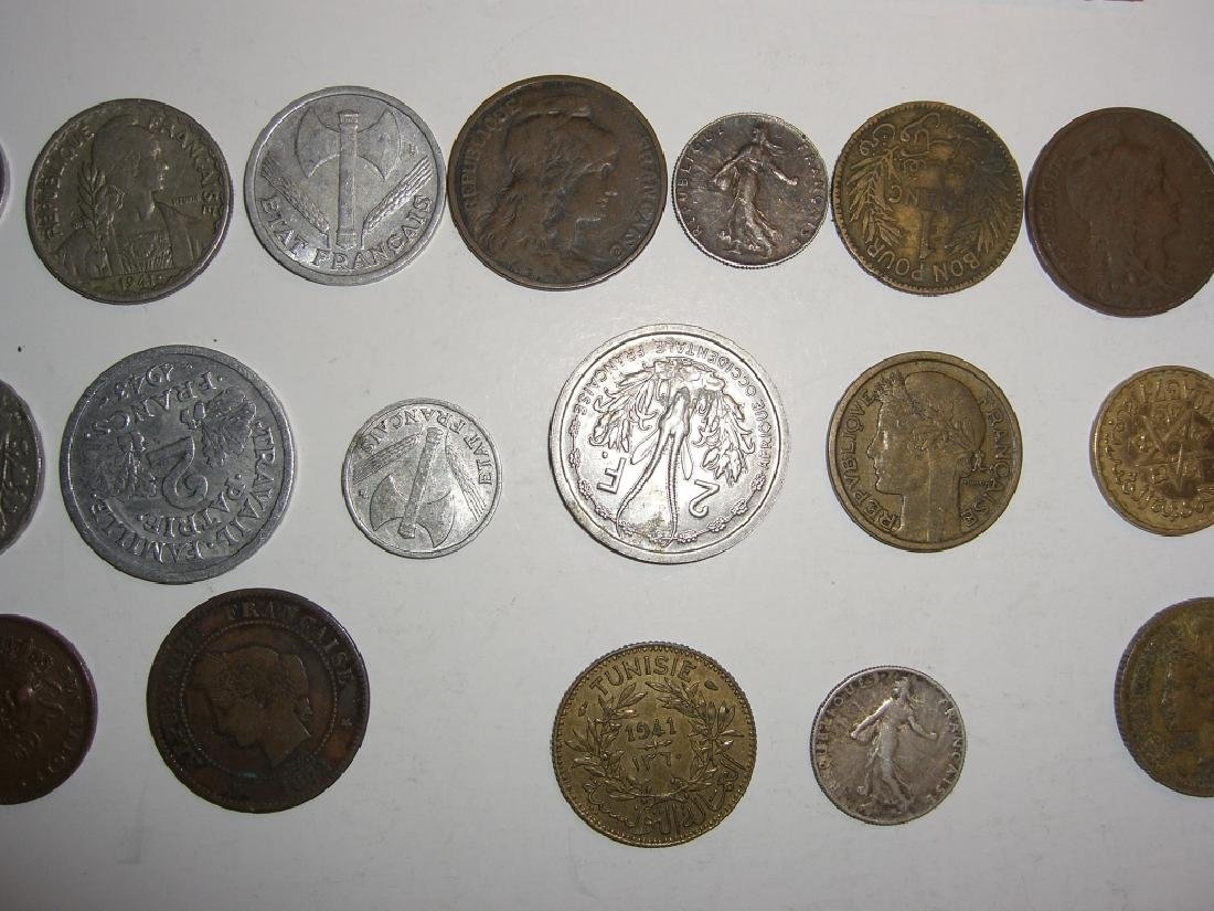 28 France/French coins - 5