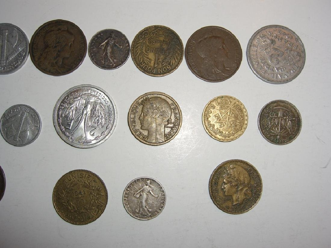 28 France/French coins - 6