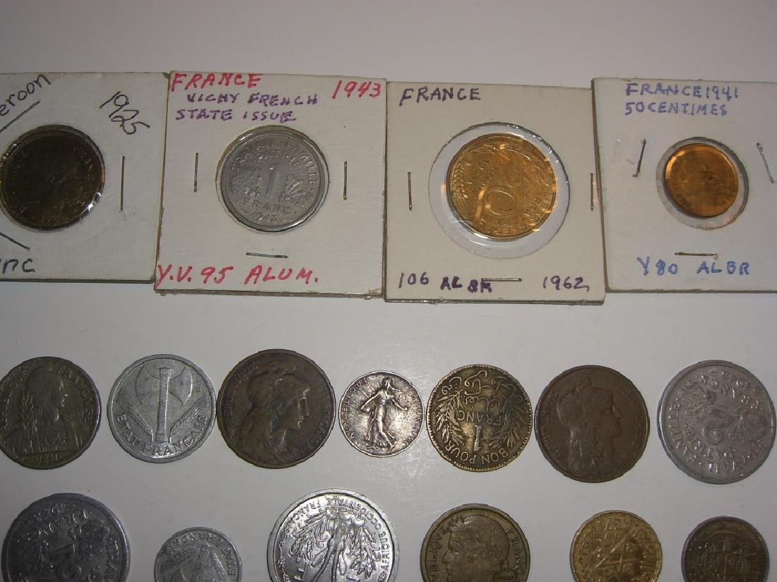 28 France/French coins - 7